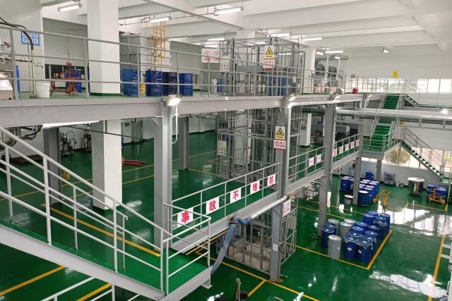2019年 中山智亨基地完成水性涂料车间扩建